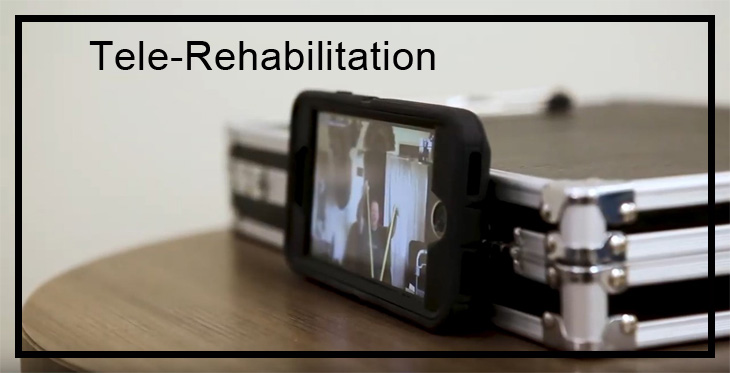 Stock Image for Tele Rehabilitation